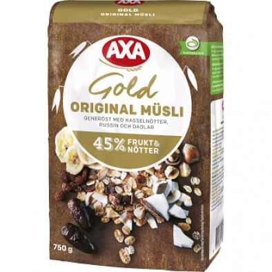 axa gold müsli original
