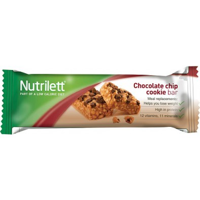 Nutrilett Hunger Control Chocolate Chip Cookie Bar