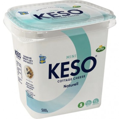 Keso Cottage Cheese Mini Naturell 1,5%