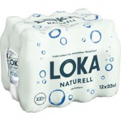 Loka Loka naturell 12pack 1/2pall 840 flaskor 33cl PET