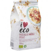 ICA I love eco Fruktmüsli eco