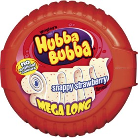 Hubba Bubba Snappy Strawberry Tape