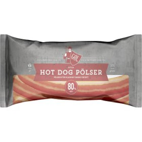 Gol Pölser Röd Hot Dog pölse