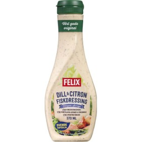 Felix Fiskdressing Dill & citron 370ml Felix