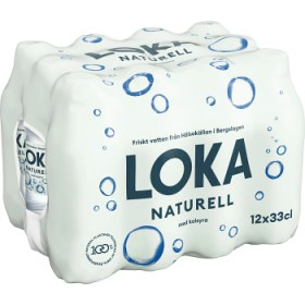 Loka Loka naturell 12pack 33cl PET