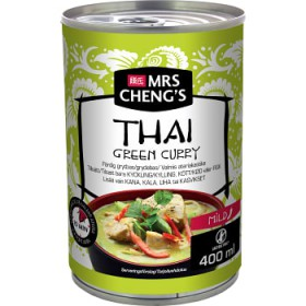 Mrs Chengs Thai Green Curry Mild