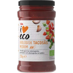 ICA I love eco Tacoss medium