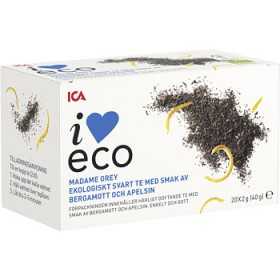 ICA I love eco Madame grey