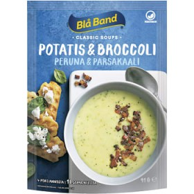 Blå Band Potatis&Broc.soppa