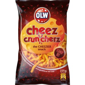 Olw Flamin Hot Cheez, ostbågar