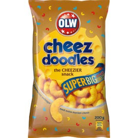 OLW Cheez doodles Super big, ostbågar