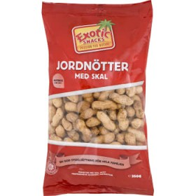 Exotic Snacks Jordnötter m skal