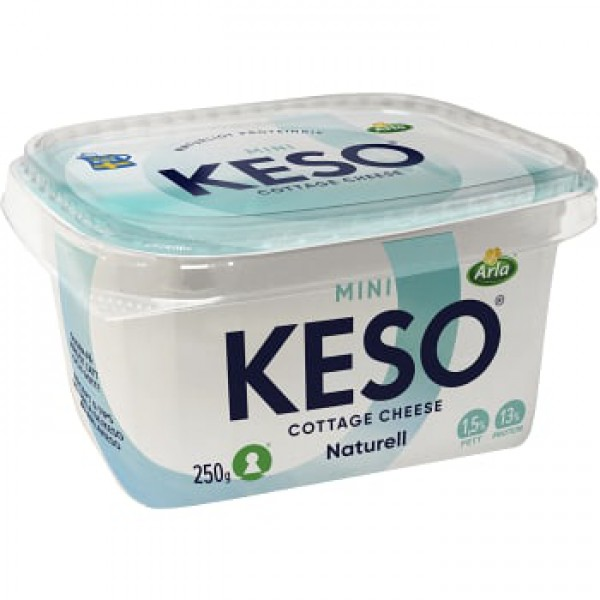 Keso Cottage Cheese Mini Naturell 1,5 %
