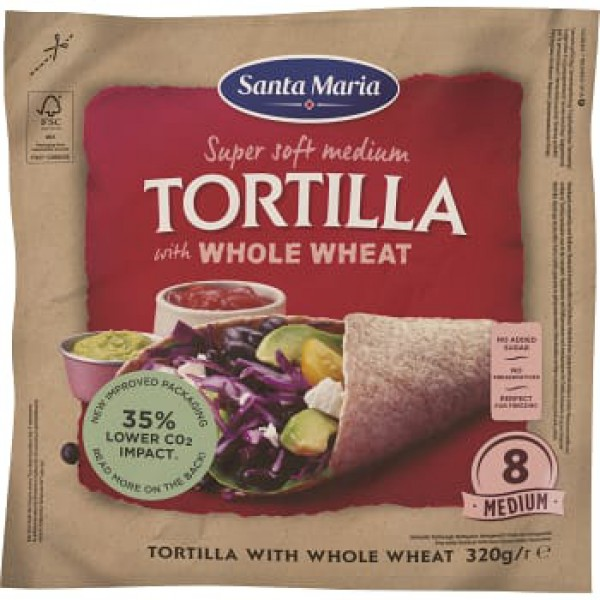 Santa Maria Tortilla Wh Wheat