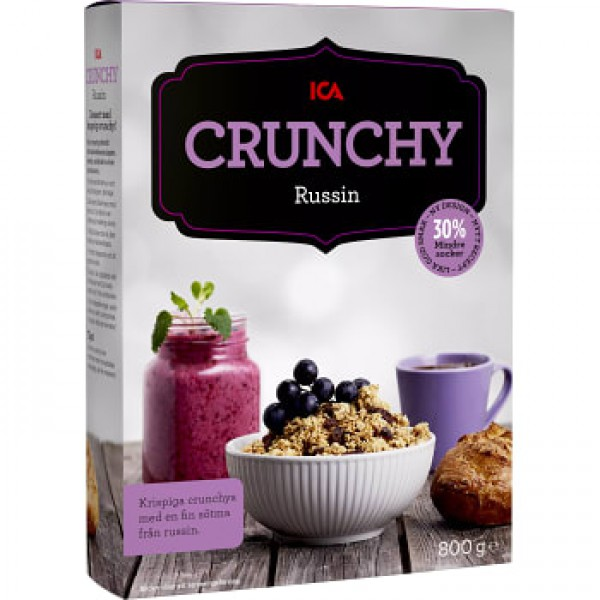 ICA Crunchy russin