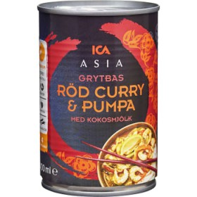 ICA Asia Röd curry & pumpa